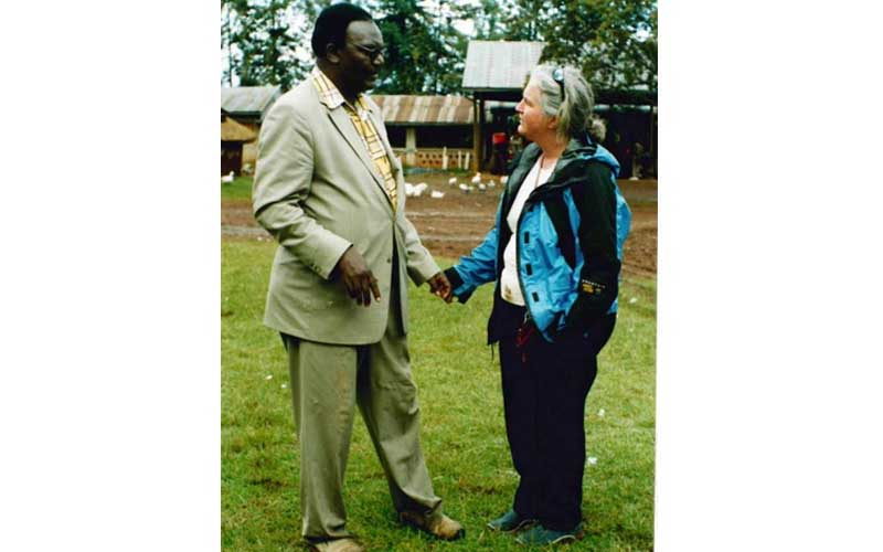 Bukusu politicians' love for white women