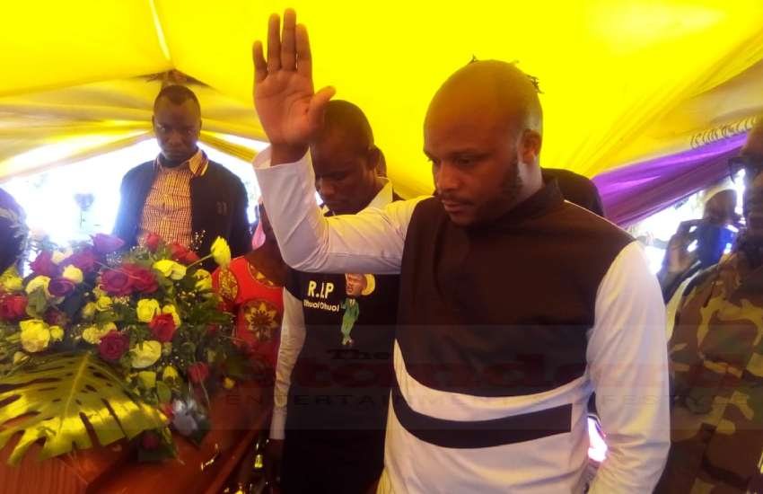 Churchill, Jalang'o attend Othuol Othuol's burial, give moving tribute