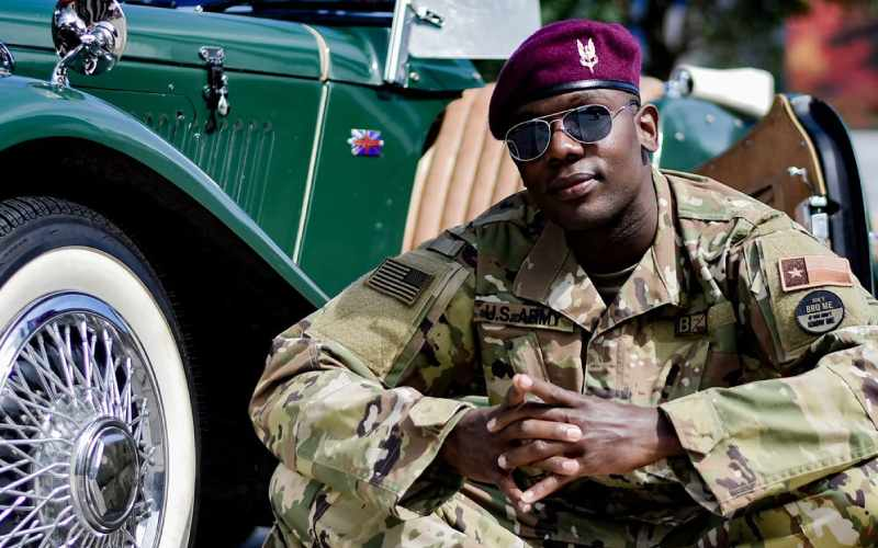 Churchill Show comedian graduates as US Army Soldier
