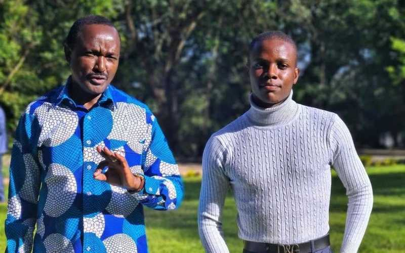 Crazy Kennar features Kalonzo in comedy skit