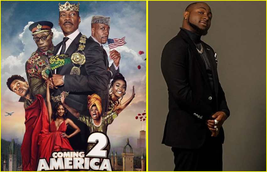 Davido ecstatic about his cameo on 'Coming 2 America'