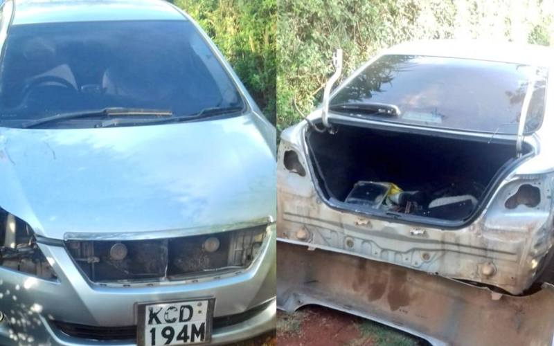 DCI looking for Kiambu gang that specializes in carjackings, theft of car parts