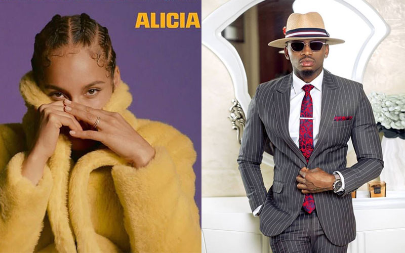 Diamond features for 26 seconds in Alicia Keys' album, fans react