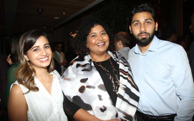 Priya Sapra, Arjaa Shah and Sahil Dodhia