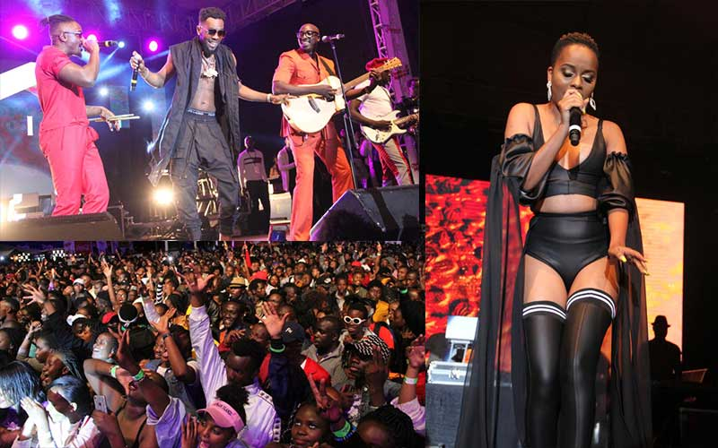 Choma Na Ngoma Second edition concert at KICC