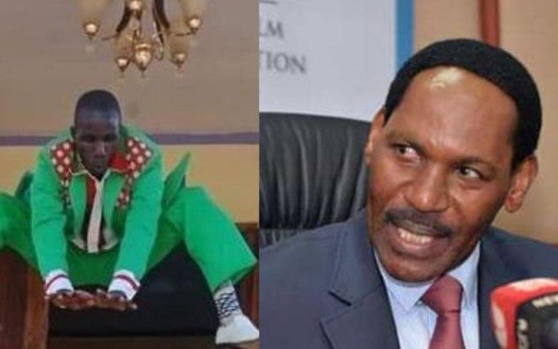 Ezekiel Mutua offers help to Embarambamba
