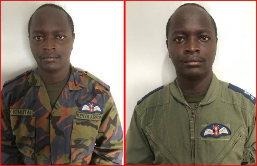 Family mourns military pilot killed in Taita Taveta crash