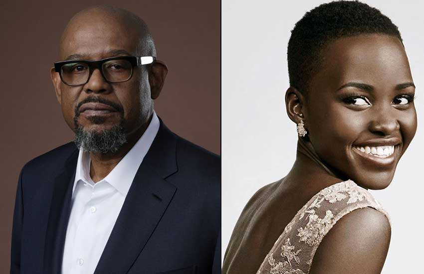 Forest Whitaker's take on Hollywood-based star Lupita Nyong'o