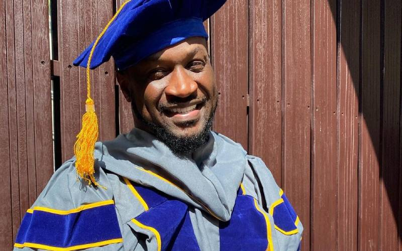 Former member of P square group bags honorary doctorate degree