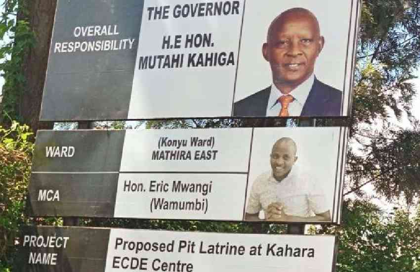 Governor's latrine billboard pulled down following public outrage