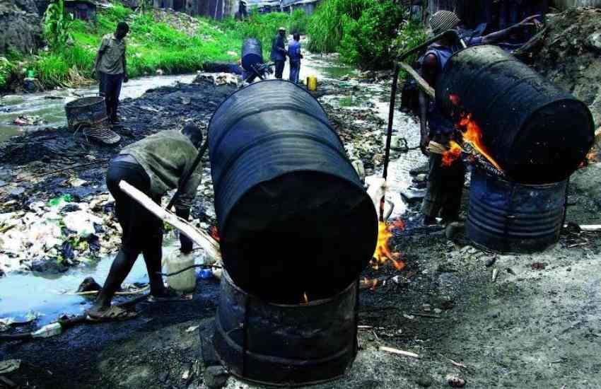 How Nubian chang'aa brewed Kibra