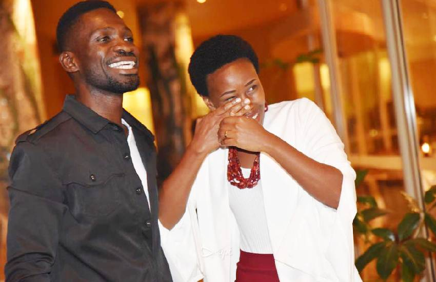 I love you! Barbie's sweet message to husband Bobi Wine