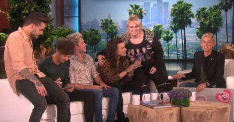 I received death threats after 'sexually assaulting' One Direction star- Pitch Perfect actress Rebel Wison