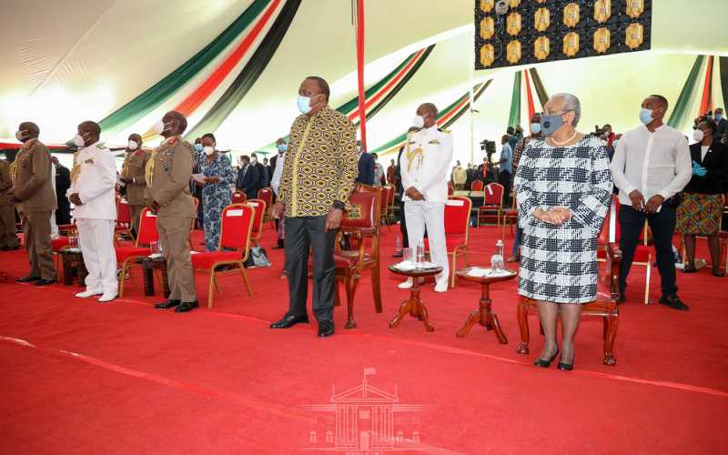 'Kama kuna mtu nimekosea naomba msamaha' — Uhuru asks for forgiveness during National Prayer Service