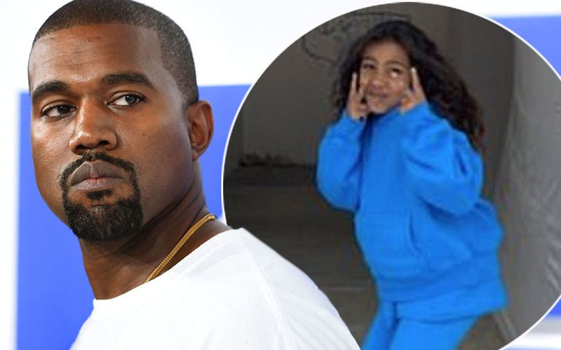 Kanye West tweets disturbing fears he'll be murdered and daughter North taken from him