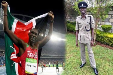 Karao Rudisha will arrest you for 'overlapping'