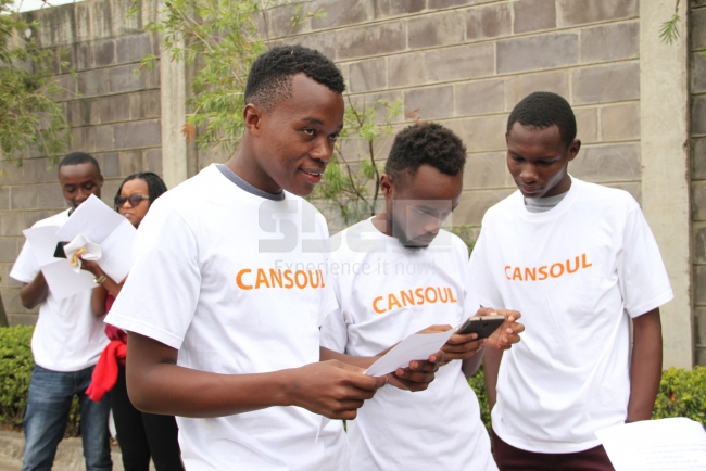 Team cansoul: SDE Race taxify challenge winners!