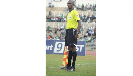 Kenyan referee Aden Marwa continues to fly the Kenyan flag high