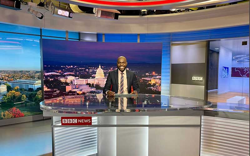 Larry Madowo's inspiring journey to anchoring news on BBC World News America