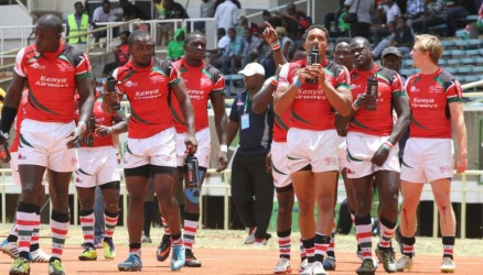 Legally, Kenya has no Sevens team