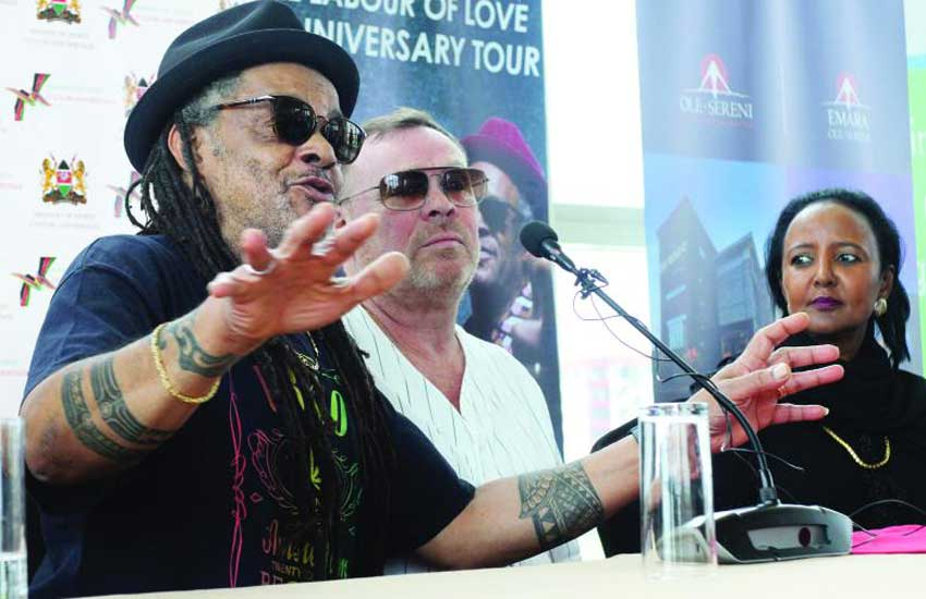 Legendary reggae band UB40 brings 'Heaven' to Carnivore tonight