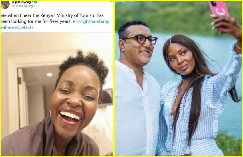 Lupita laughs off CS Balala's claims she could not be reached in 5 years