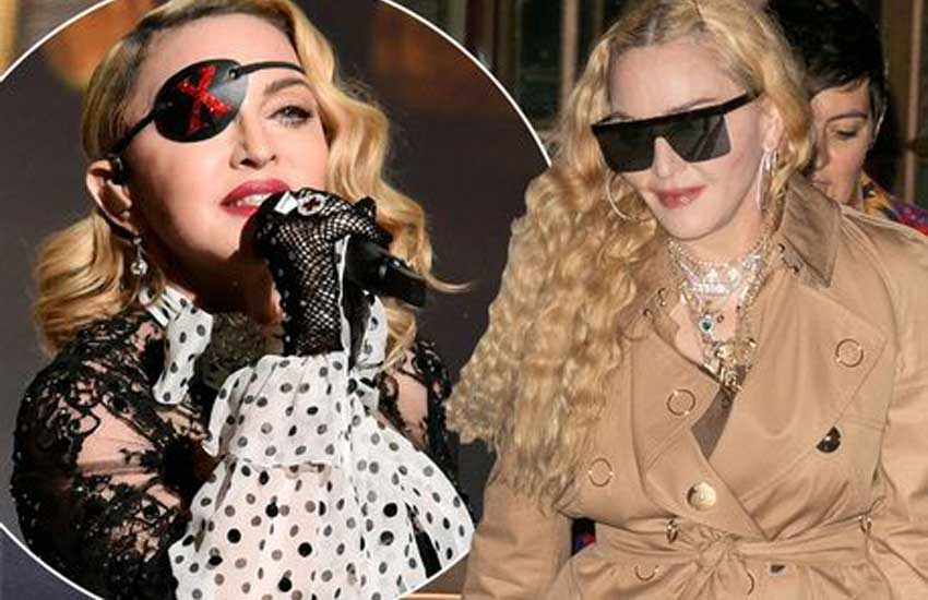 Madonna apologises as she's forced to cancel more shows
