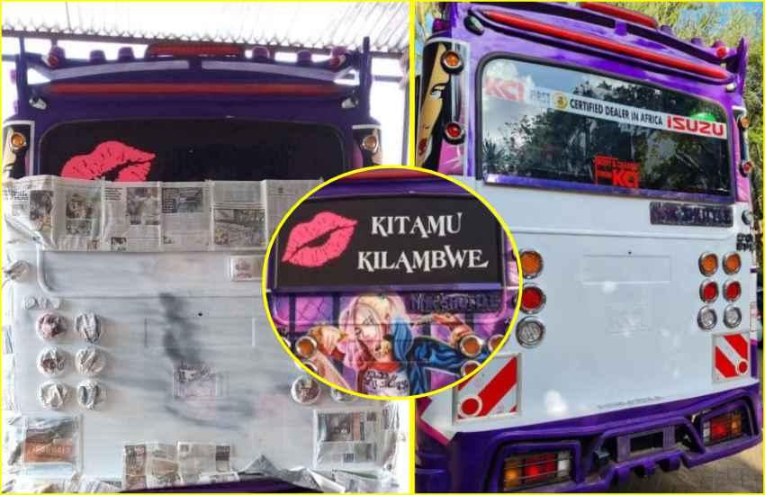 Ezekiel Mutua lauds NTSA for impounding matatu with offensive graffiti