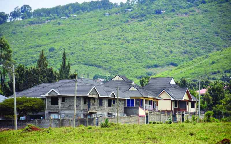 Kisumu's new posh estates for the rich