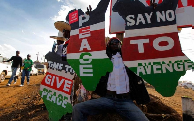 No violence, know peace: Celebs joining other Kenyans in calls for calm and peace