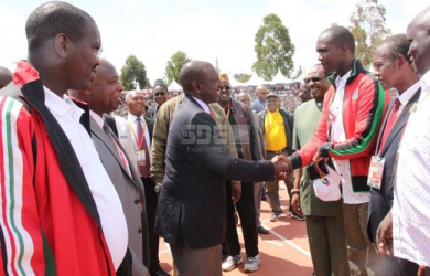 NOCK trials Eldoret: When politicians played second fiddle to world beaters