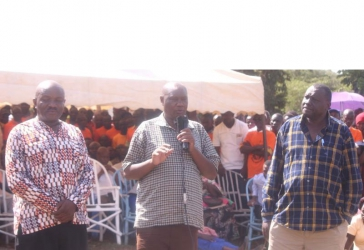 Otuoma dealt blow in his gubernatorial bid in Busia as his father declares support for his bitter rival