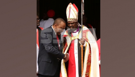 Paying for miracles is witchcraft- ACK Archbishop Jackson Ole Sapit