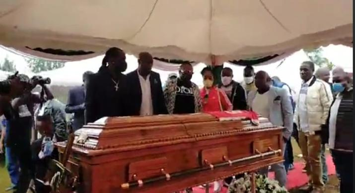 PHOTOS: Kevin Oliech laid to rest in Kisumu