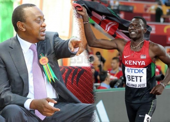 President Uhuru told my son to dash for gold — Nicholas Bett's mum