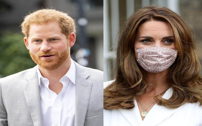 Prince Harry's comment that made Kate Middleton 'cry' on her wedding day