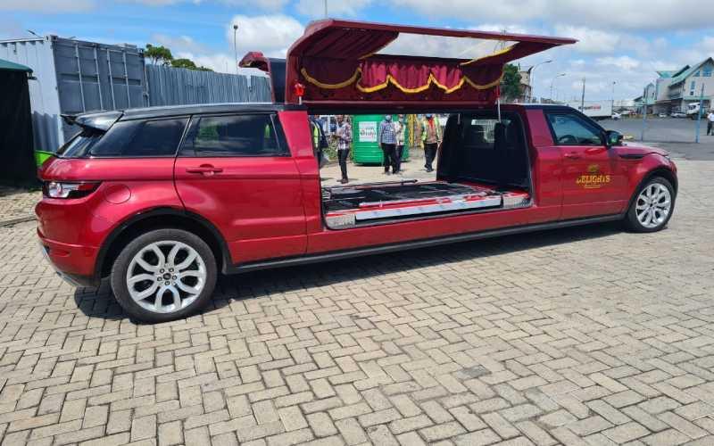 Promotion to glory: Sh500,000 hearse that has Kenyans talking