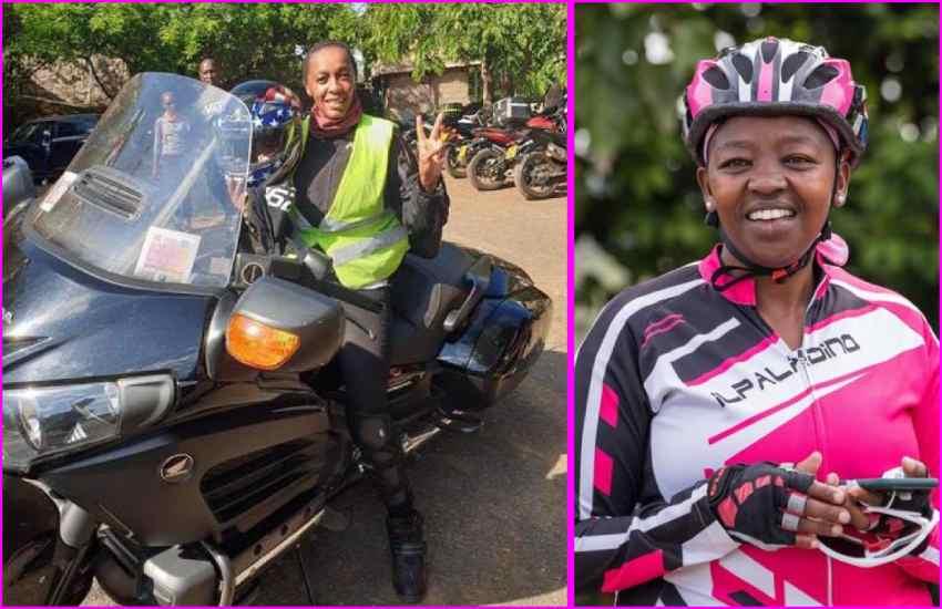 Rachel Ruto mourns female biker Kui Gitonga