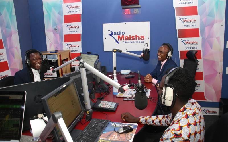 Radio Maisha wins People's Choice Award at the KUZA Awards for the third year running