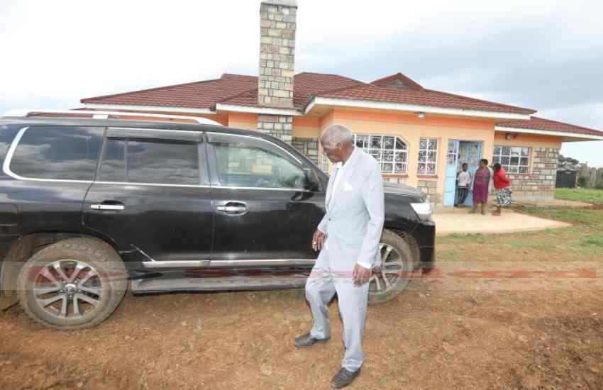 How Eldoret  tycoon and 'men's conference speaker' Jackson Kibor made his millions