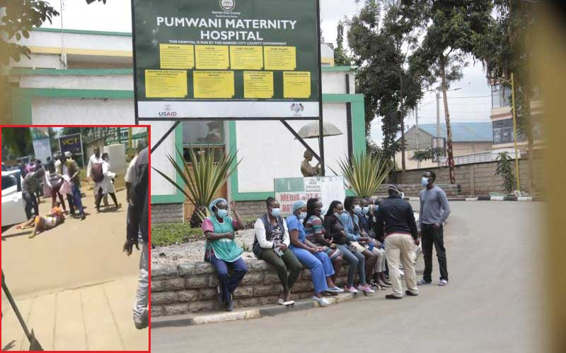 #RespectOurMothers: Furore as woman in labour is turned away from Pumwani Hospital