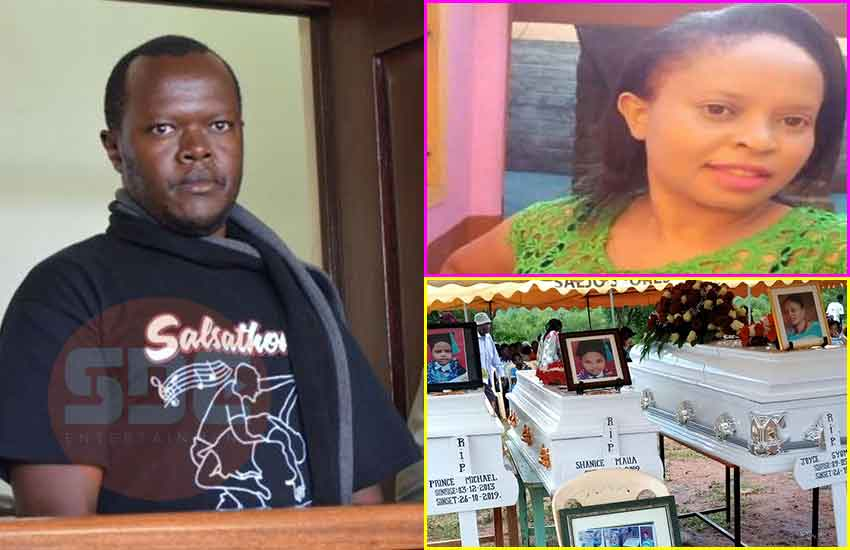 Revealed: How ex-soldier ferried, buried bodies of lover, two children