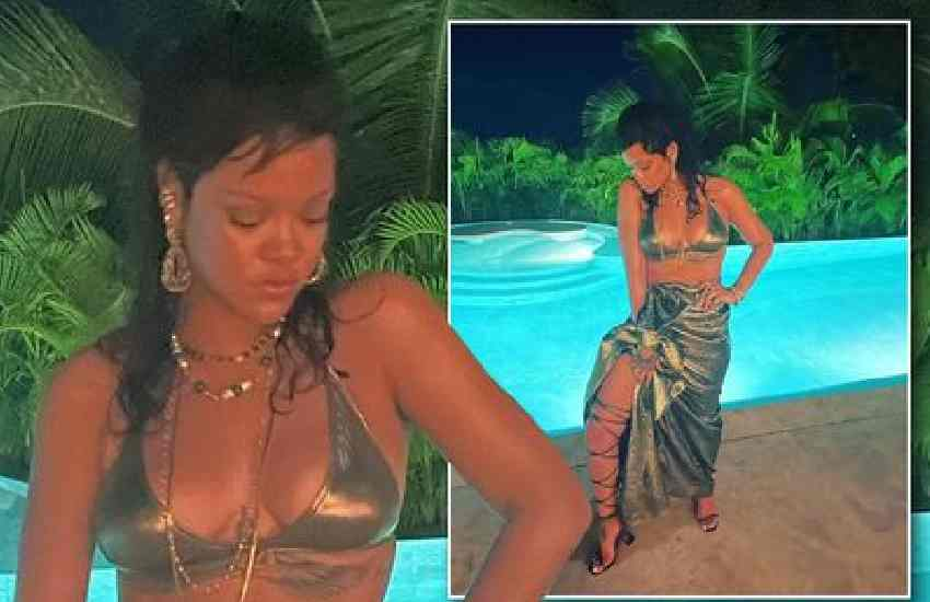 Rihanna claps back at fans demanding new music, posts sizzling New Year's snap