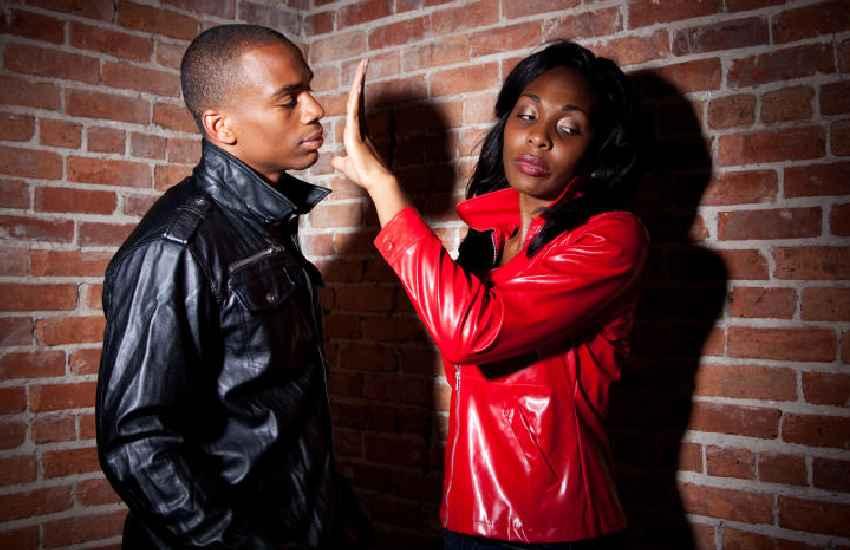 Shame: Men who move into womens' cribs