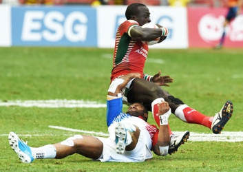 Sheng gave Kenya 7s team the rugby cup