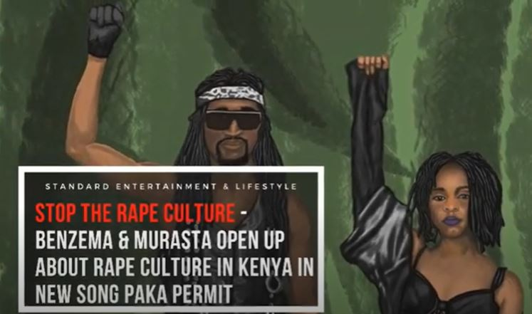 Kenyan artists open up on rape