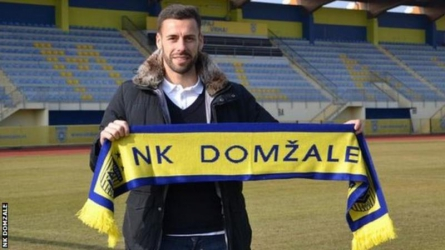 Slovekian club signs player via LinkedIn