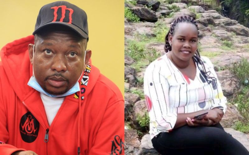 Sonko offers to take care of Caroline Kangogo's children