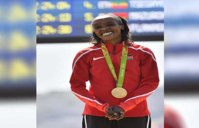 Sumgong almost gave up on Rio Olympics— Hubby