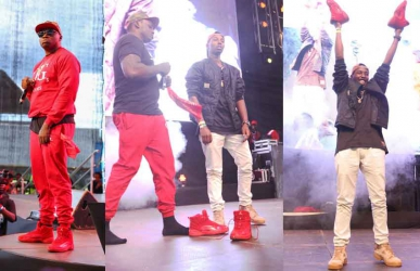 The OG: Khaligraph Jones gifts pricey Air Jordans to fan